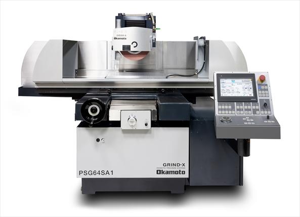 岡本工作機械製作所が汎用研削盤「PSGSA1シリーズ」を発売<br>パネルなど操作性向上