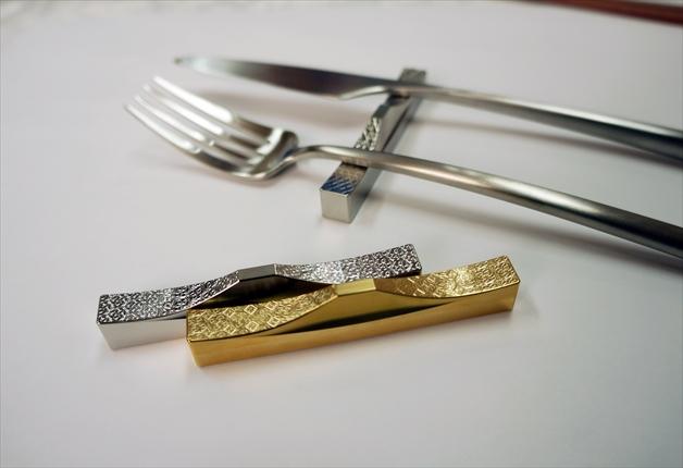 武林製作所 自社商品「カトラリーレスト」発売<br>金型の加工技術生かし