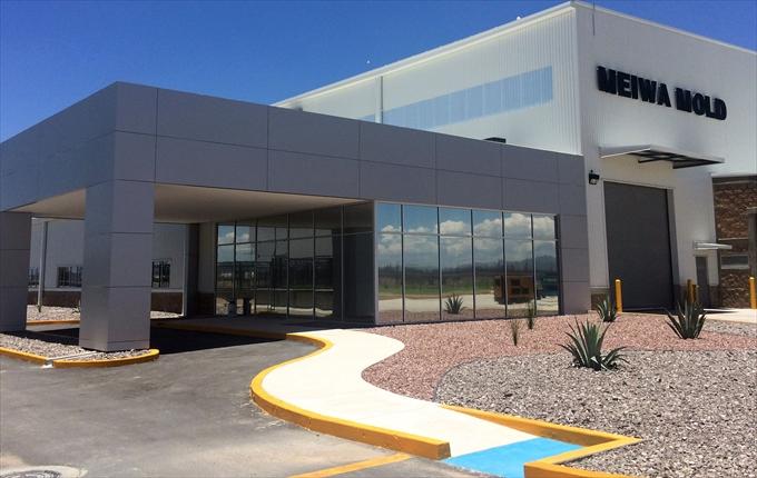 明和製作所 メキシコ工場建設し、稼働
