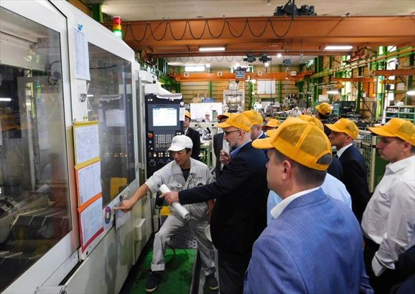名古屋精密金型 交流促進と現場見学<br>ロシア視察団が訪問