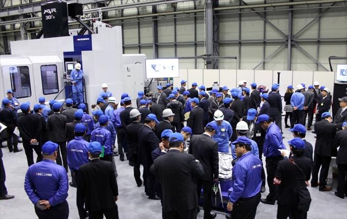 三菱重工工作機械 大形実機見学会<br>3月8・9日開催