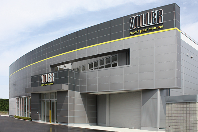 ZOLLER Japan 新社屋にショールーム
