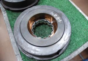 5軸MCで加工したギア物金型
