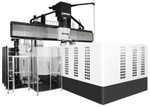 プレス型の生産を革新<br>オークマ<br>5面加工門形MC「MCR−S(Super)」